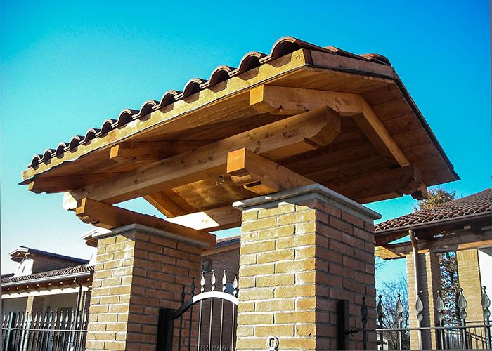 Strutture in legno coperture in legno casette in legno case in legno gazebo in legno - Pergolati in legno autoportanti ...