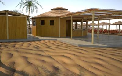 Progettazione stabilimenti balneari realizziamo e for Amore legnami