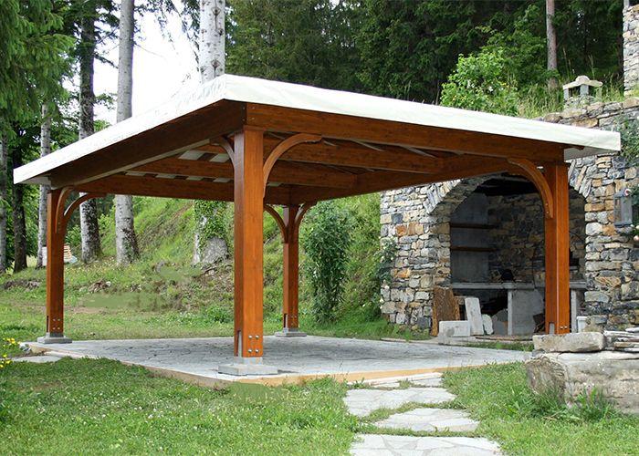 Gazebo in legno a roma coperture in legno da esterno for Gazebo in legno bricoman