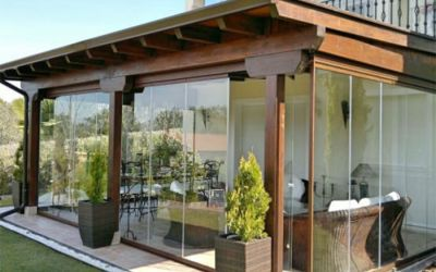 verande in legno veranda in abete lamellare veranda con