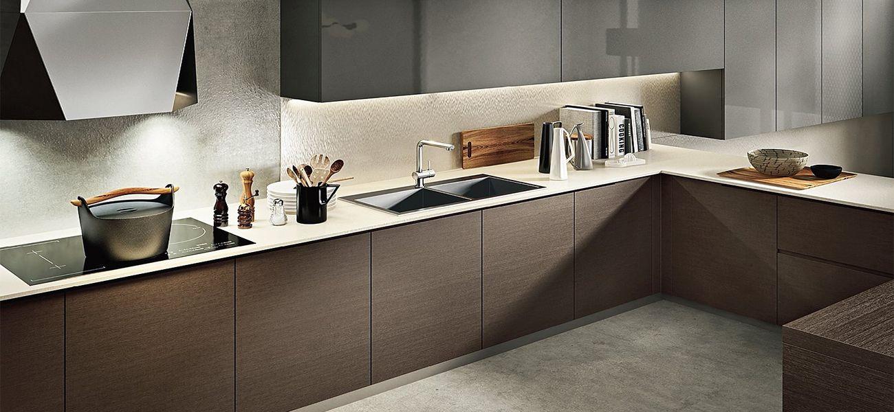 Top da cucina in legno laminato piano da cucina in legno - Spessore top cucina ...