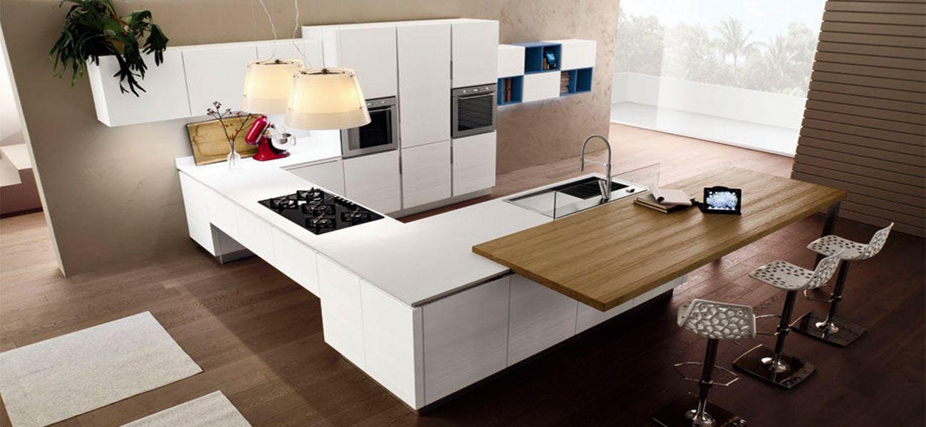 Top da cucina in legno laminato - Piano da cucina in legno su misura