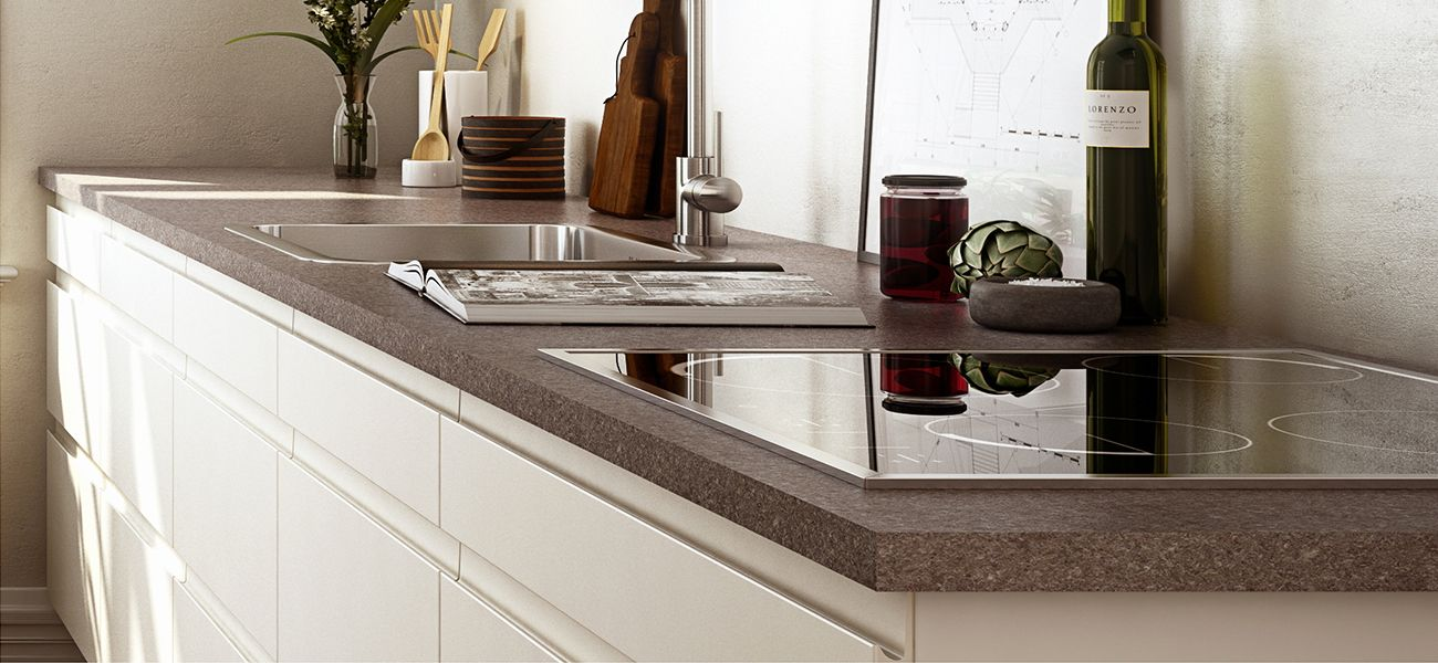 Top da cucina in legno laminato - Piano da cucina in legno ...
